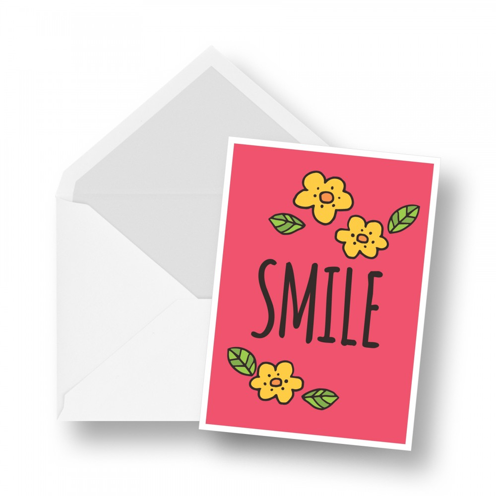 Birthday Card - Smile